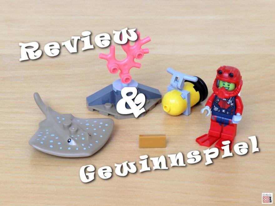 Review und Gewinnspiel - LEGO City 30370 Tiefseetaucher Polybag | ©Brickzeit