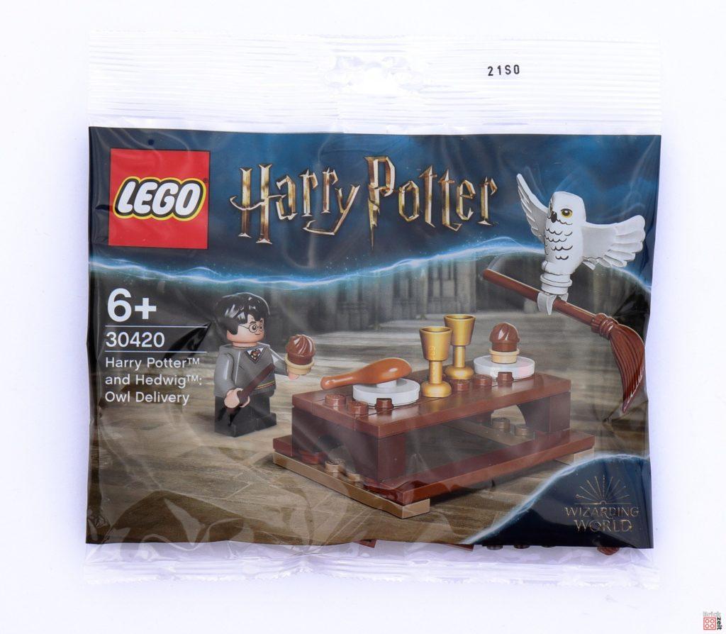 LEGO 30420 Harry Potter und Hedwig Eulenlieferung Polybag | ©Brickzeit