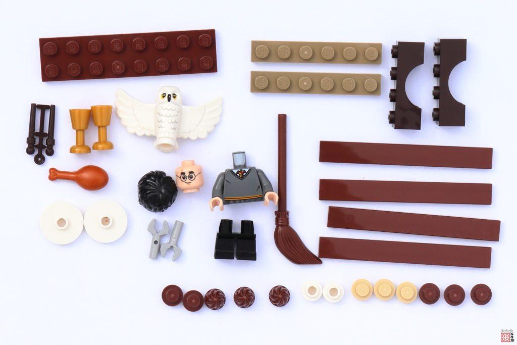 LEGO 30420 Harry Potter und Hedwig Eulenlieferung, Einzelteile| ©Brickzeit