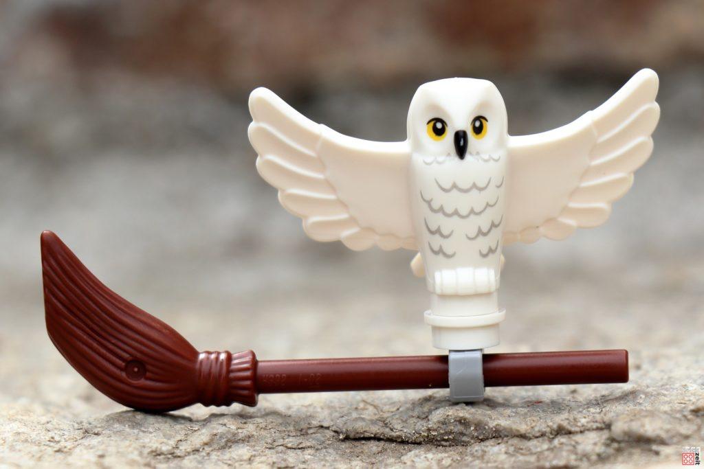 LEGO 30420 - Hedwig auf Besen | ©Brickzeit