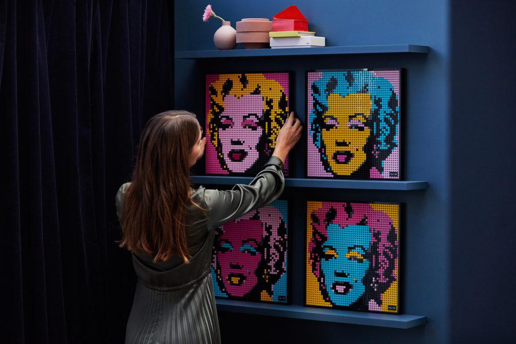 LEGO Art 31197 Andy Warhol's Marilyn Monroe | ©LEGO Gruppe