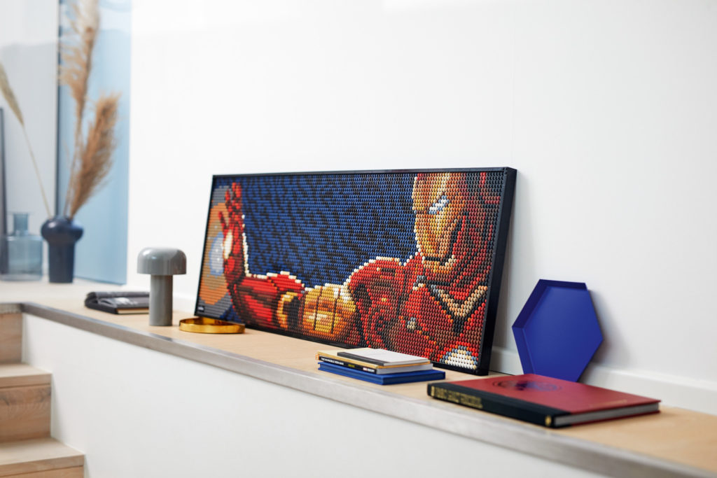 LEGO Art 31199 Marvel Studios Iron Man - Kunstbild | ©LEGO Gruppe