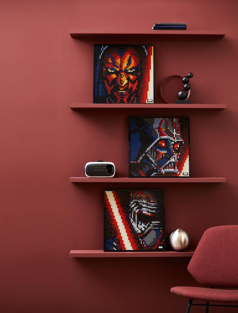 LEGO Art 31200 StarWars™: Die Sith – Kunstbild | ©LEGO Gruppe
