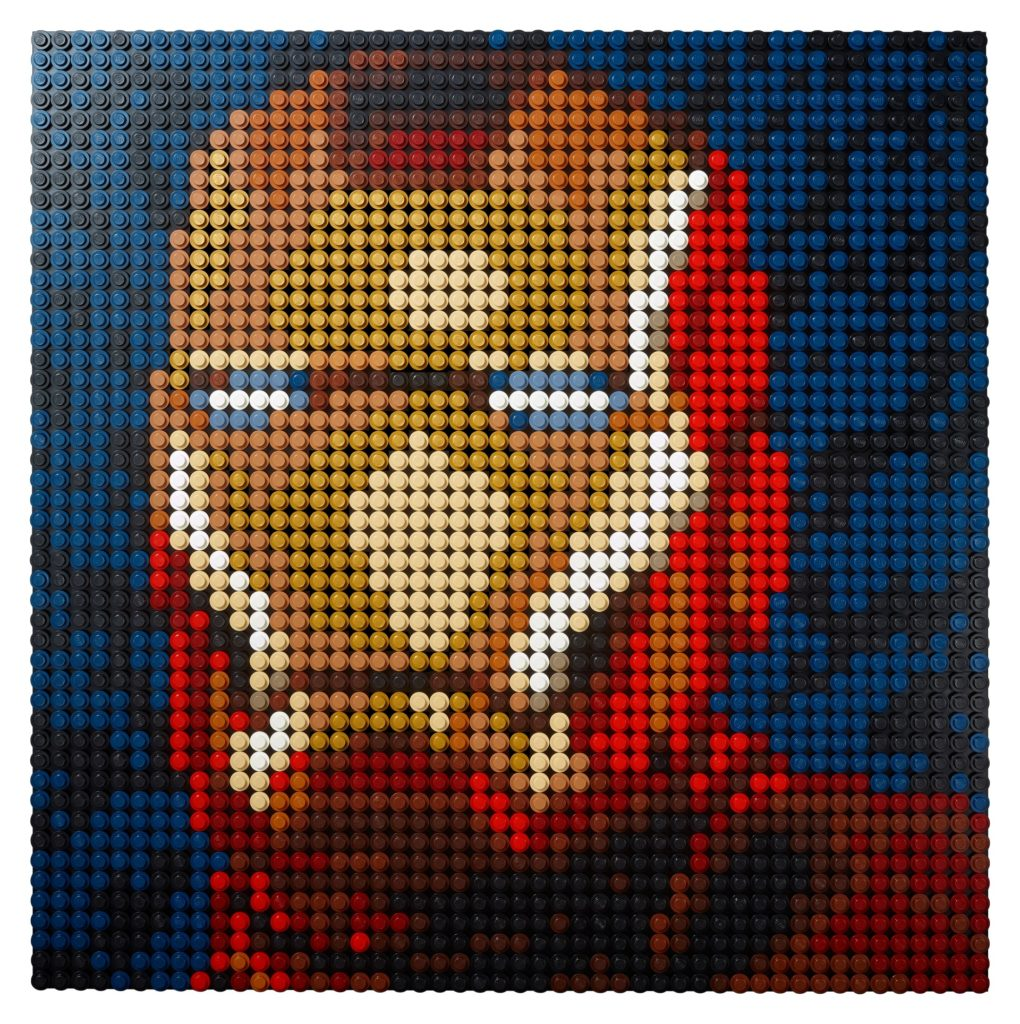 LEGO Art 31199 Marvel Studios Iron Man - Kunstbild