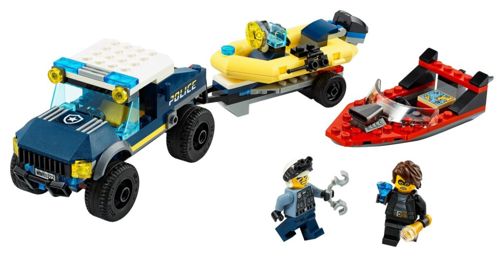 LEGO City 60272 Transport des Polizeiboots | ©LEGO Gruppe