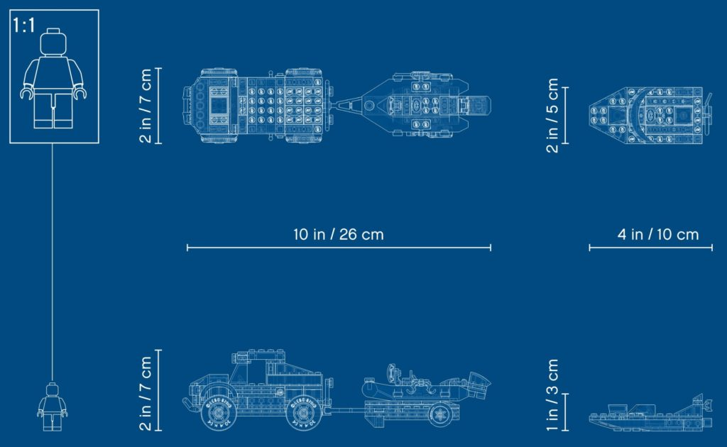 LEGO City 60272 Transport des Polizeiboots | ©LEGO Gruppe