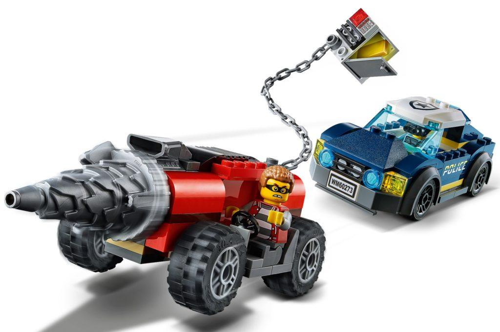 LEGO City 60273 Verfolgung des Bohrfahrzeugs | ©LEGO Gruppe