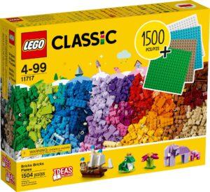 LEGO Classic 11717 Extra große Steinebox mit Bauplatten | ©LEGO Gruppe