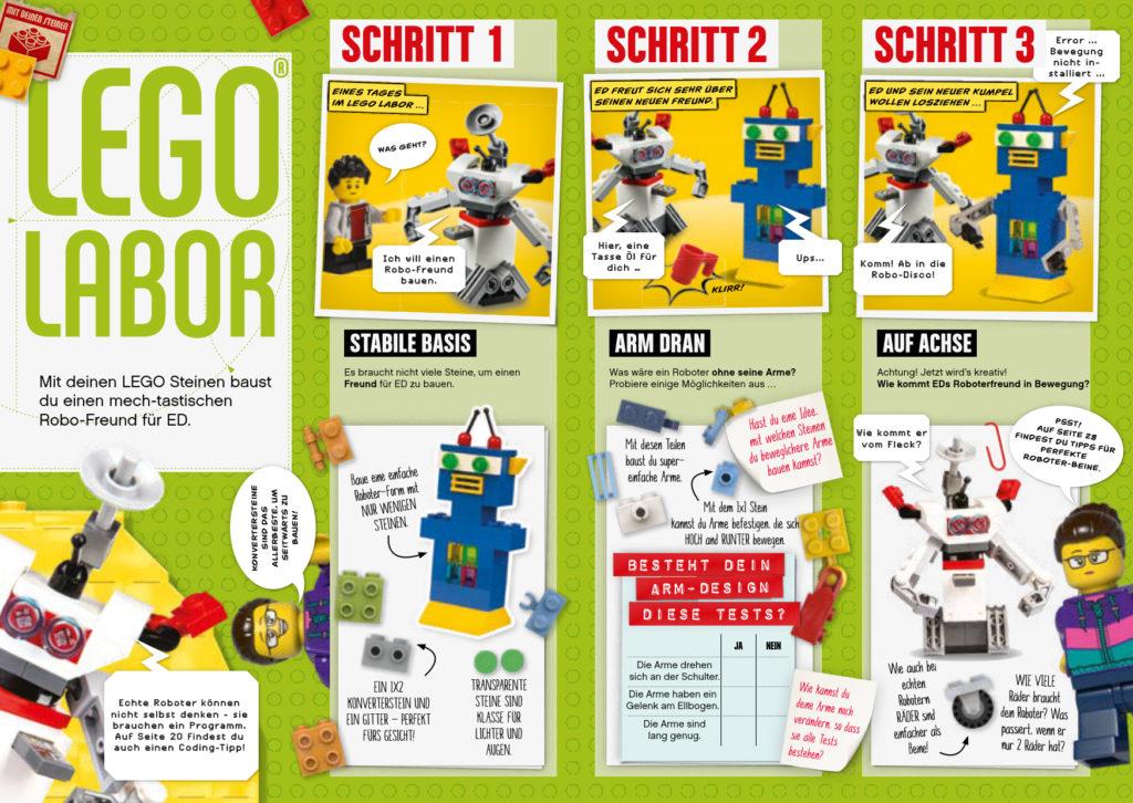 LEGO Explorer Magazin 08/2020 - Leseprobe 2 | ©Egmont Ehapa