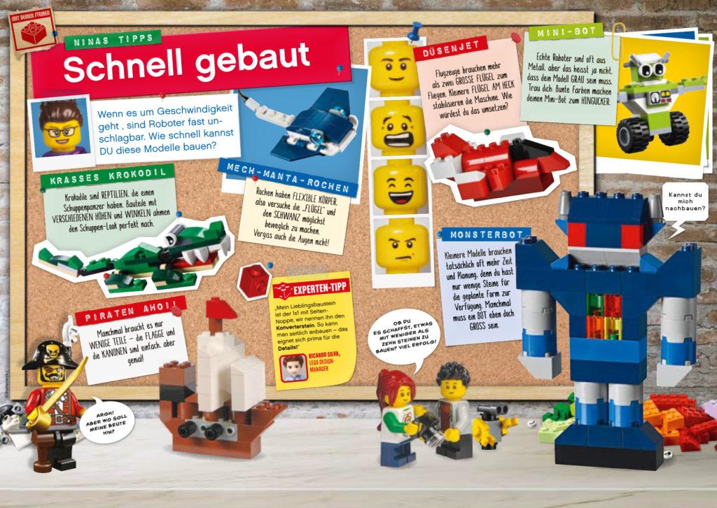 LEGO Explorer Magazin 08/2020 - Leseprobe 3 | ©Egmont Ehapa
