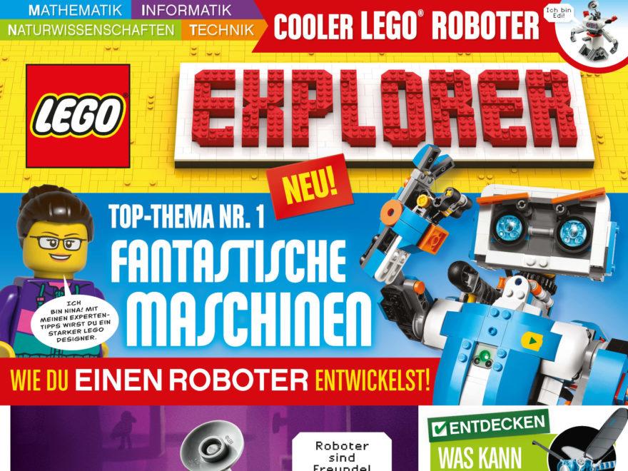 LEGO Explorer Magazin - Titelbild | ©Egmont Ehapa