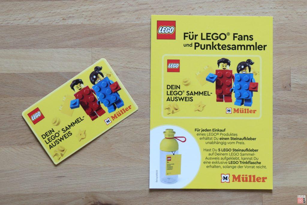 LEGO Sammelpass bei Müller | ©Brickzeit