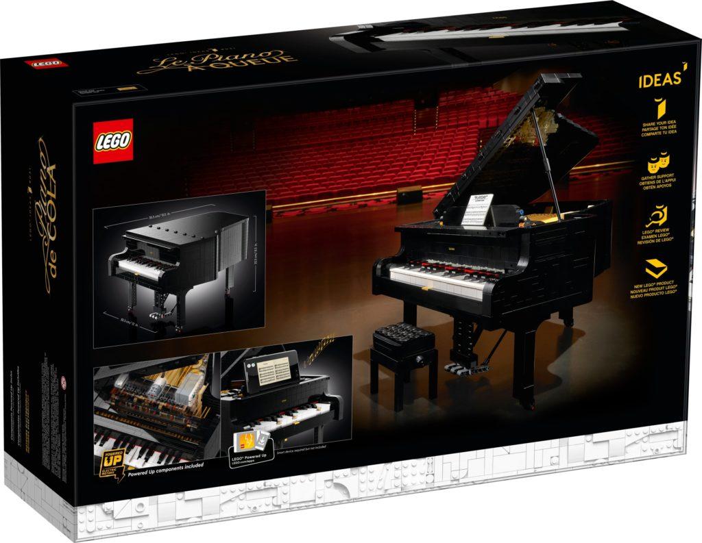 LEGO® Ideas 21323 Konzertflügel   ©LEGO Gruppe