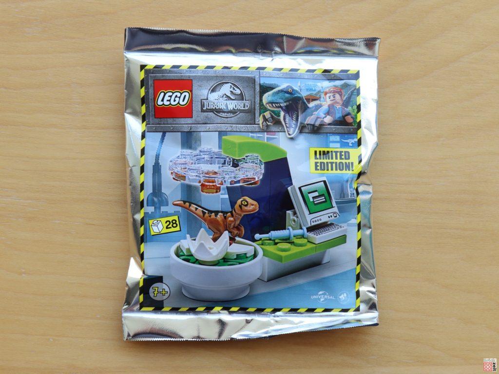 LEGO Jurassic World - Dino-Labor Polybag - Item. Nr. 122008 | ©Brickzeit