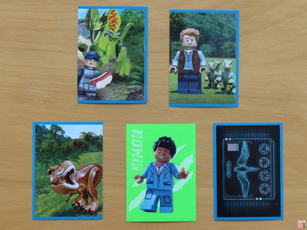 LEGO Jurassic World Sammelalbum-Sticker | ©Brickzeit