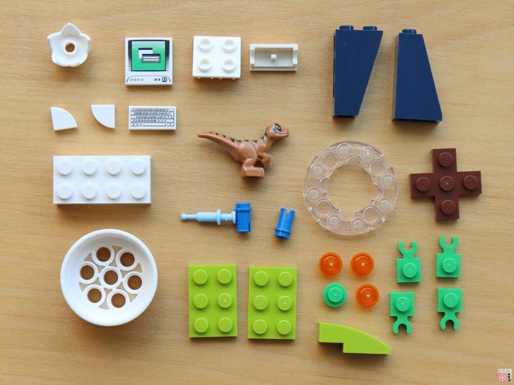LEGO Jurassic World - Dino-Labor Polybag - Item. Nr. 122008, Inhalt | ©Brickzeit