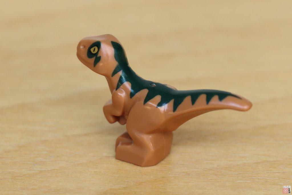 LEGO Jurassic World - Dino-Labor, Baby Raptor hinten | ©Brickzeit