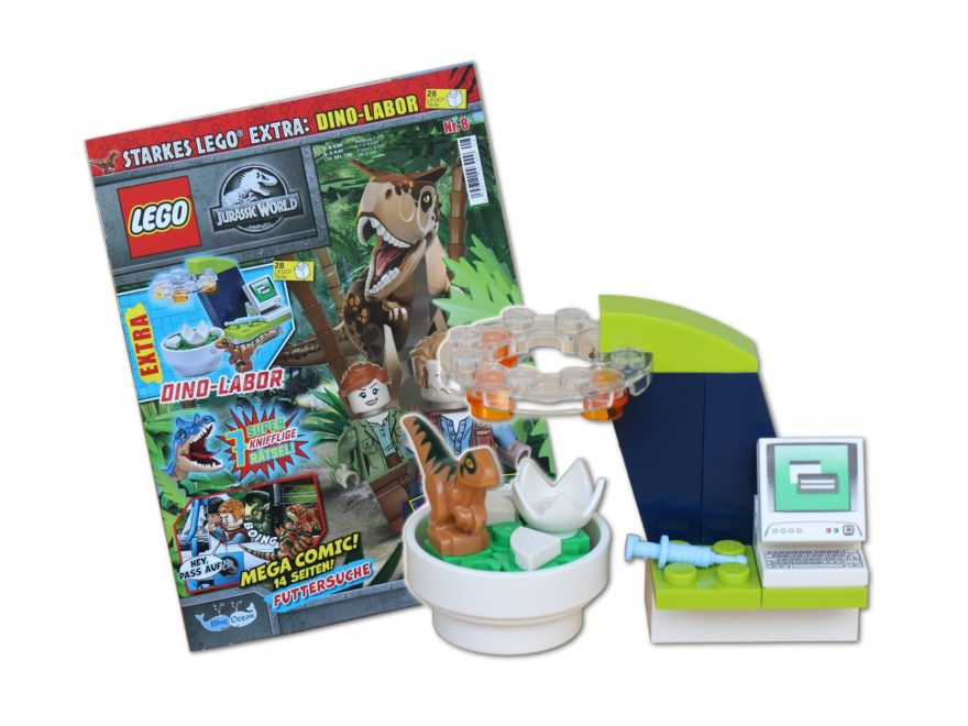 Review - LEGO Jurassic World Magazin Nr. 8 | ©Brickzeit