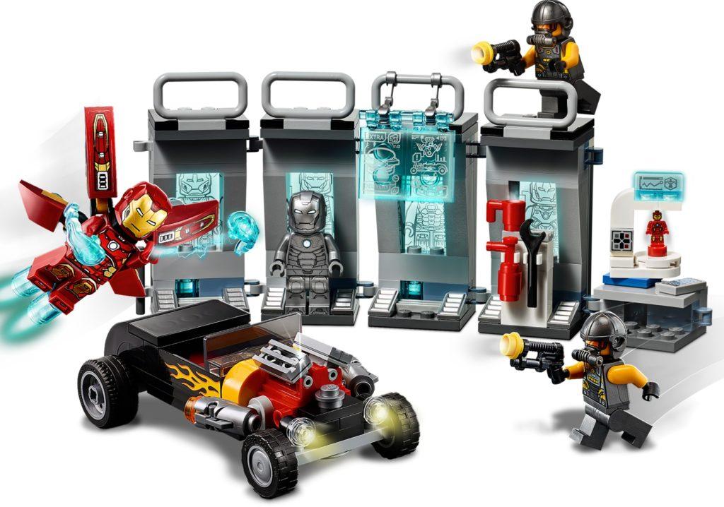 LEGO Marvel 76167 Iron Mans Arsenal | ©LEGO Gruppe
