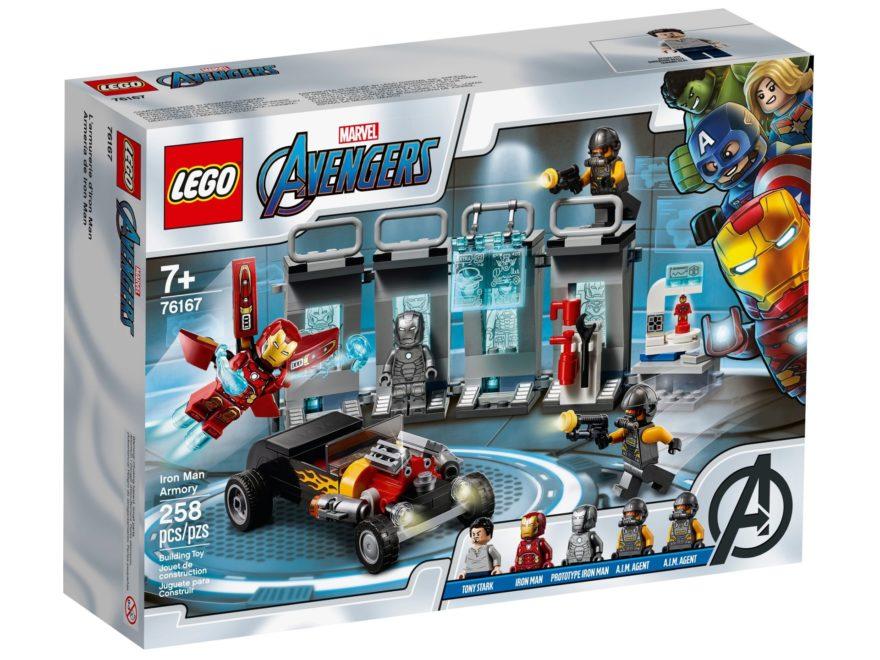 LEGO Marvel 76167 Iron Mans Arsenal ab 1. August 2020 verfügbar | ©LEGO Gruppe