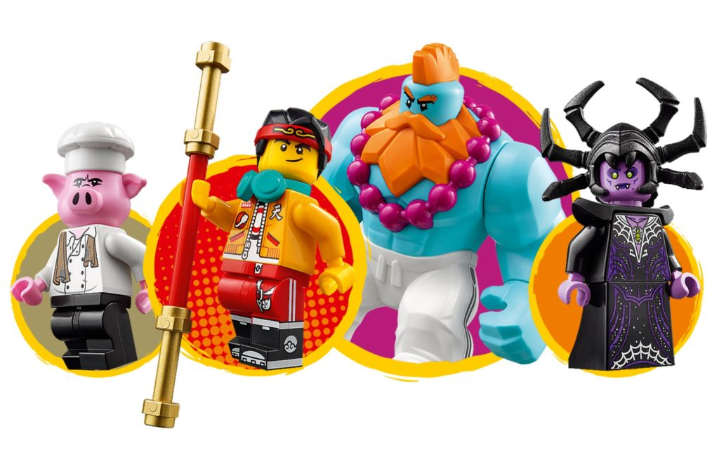 LEGO Monkie Kid 80014 Sandys Schnellboot | ©LEGO Gruppe
