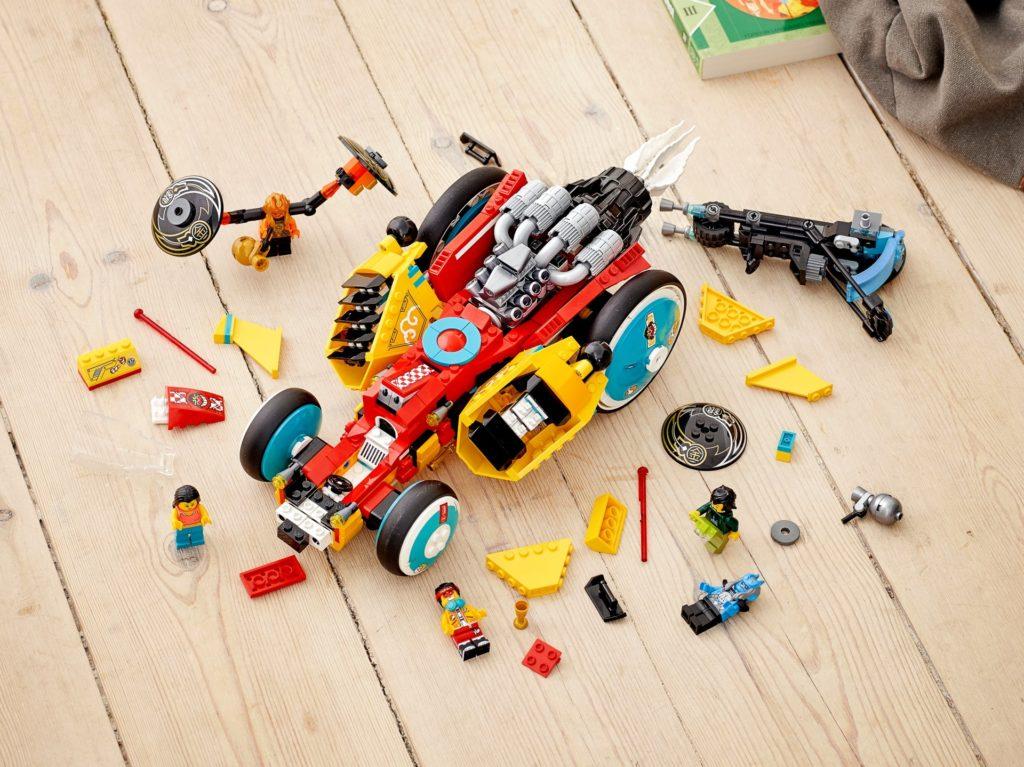 LEGO Monkie Kid 80015 Monkie Kids™ Wolken Roadster | ©LEGO Gruppe