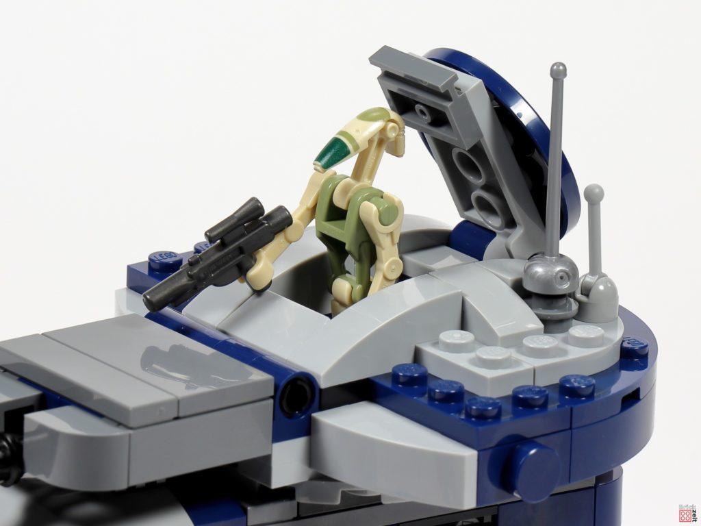 LEGO Star Wars 75283 AAT, Sitz des Schützen | ©2020 Brickzeit