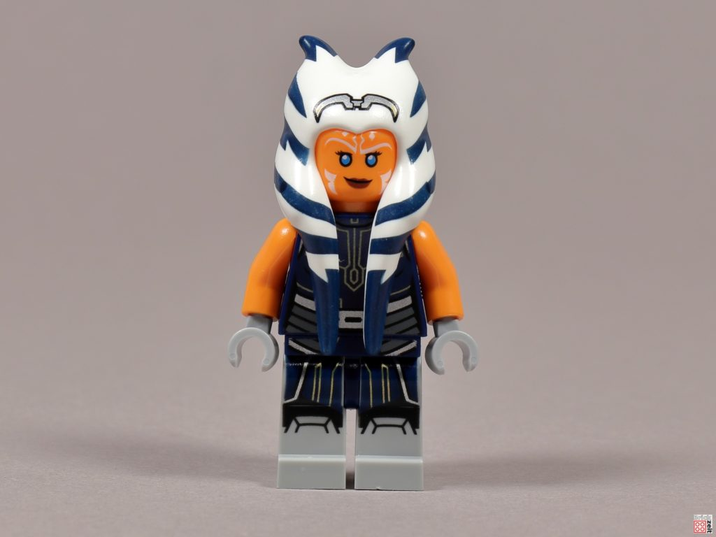 LEGO 75238 - Ashoka Tano, Vorderseite | ©2020 Brickzeit