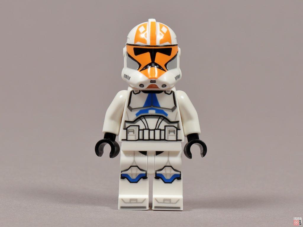LEGO 75238 - Ashokas Clone Trooper, Vorderseite | ©2020 Brickzeit