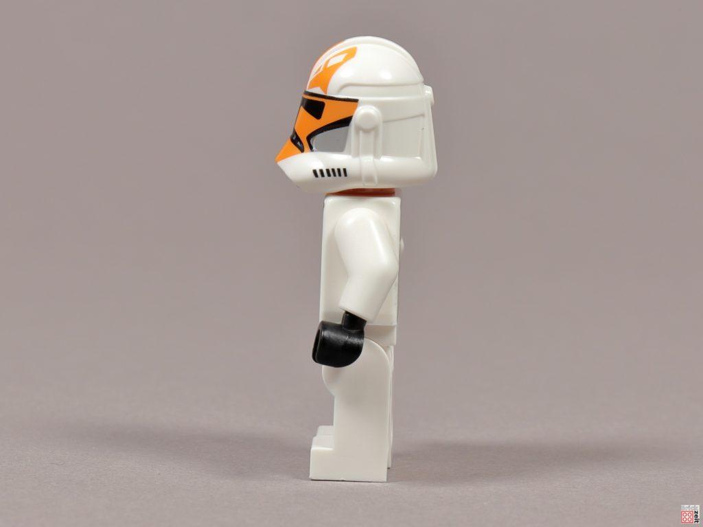 LEGO 75238 - Ashokas Clone Trooper, linke Seite | ©2020 Brickzeit