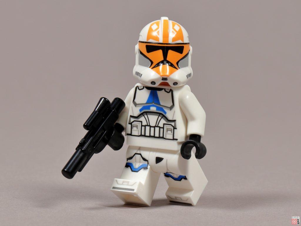 LEGO 75238 - Ashokas Clone Trooper mit Blaster | ©2020 Brickzeit