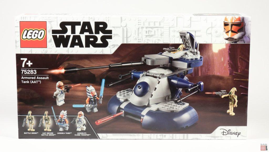 LEGO Star Wars 75283 Armored Assault Tank (AAT) - Packung, Vorderseite | ©2020 Brickzeit