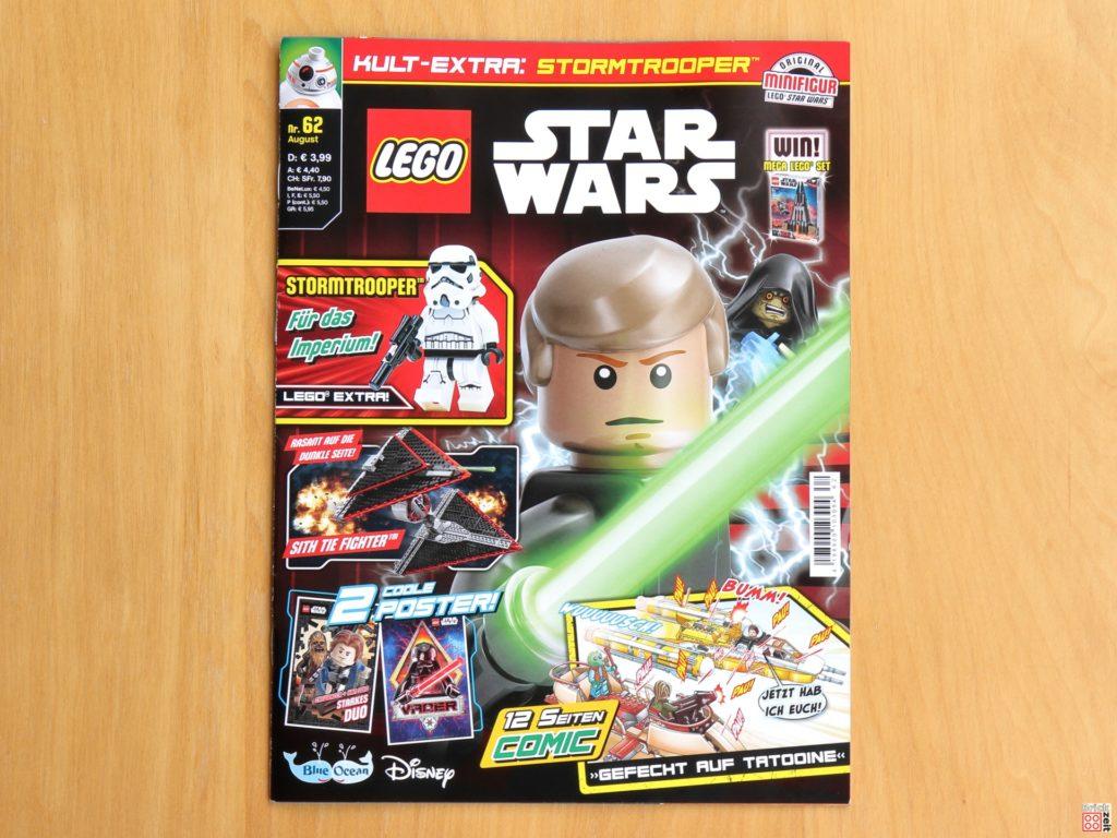 LEGO® Star Wars™ Magazin Nr. 62 (August 2020) - Cover | ©Brickzeit