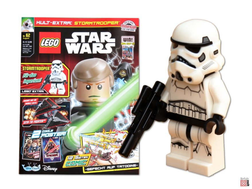 Review - LEGO® Star Wars™ Magazin Nr. 62 (August 2020) mit Stormtrooper™ | ©Brickzeit
