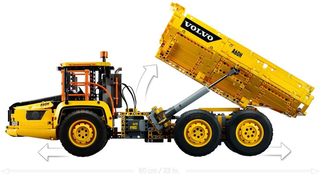LEGO Technic 42144 Knickgelenkter Volvo-Dumper (6x6) | ©LEGO Gruppe