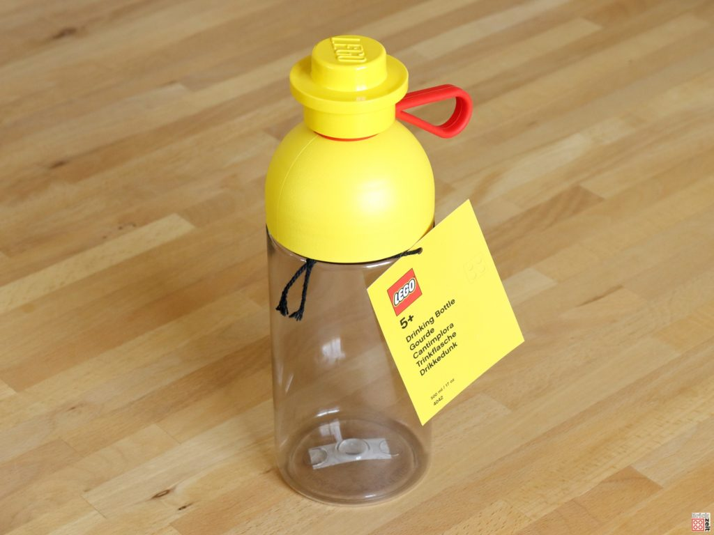 Gratis LEGO Trinkflasche bei Müller | ©Brickzeit