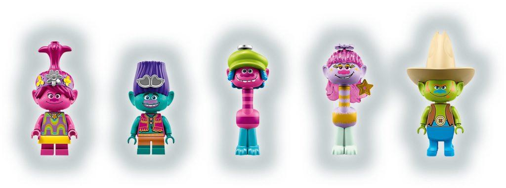 LEGO Trolls 41258 Das Konzert von Vibe City | ©LEGO Gruppe