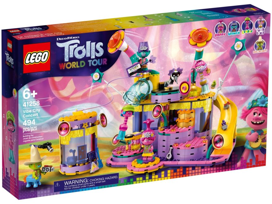 LEGO Trolls 41258 Das Konzert von Vibe City - Titelbild | ©LEGO Gruppe