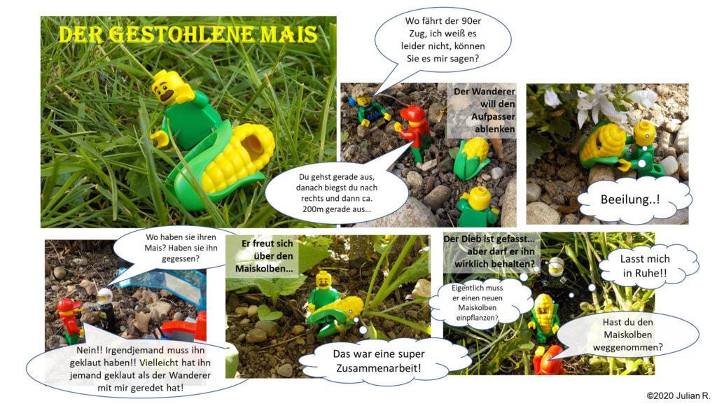 Der gestohlene Mais - LEGO-Comic | ©2020 Julian R.