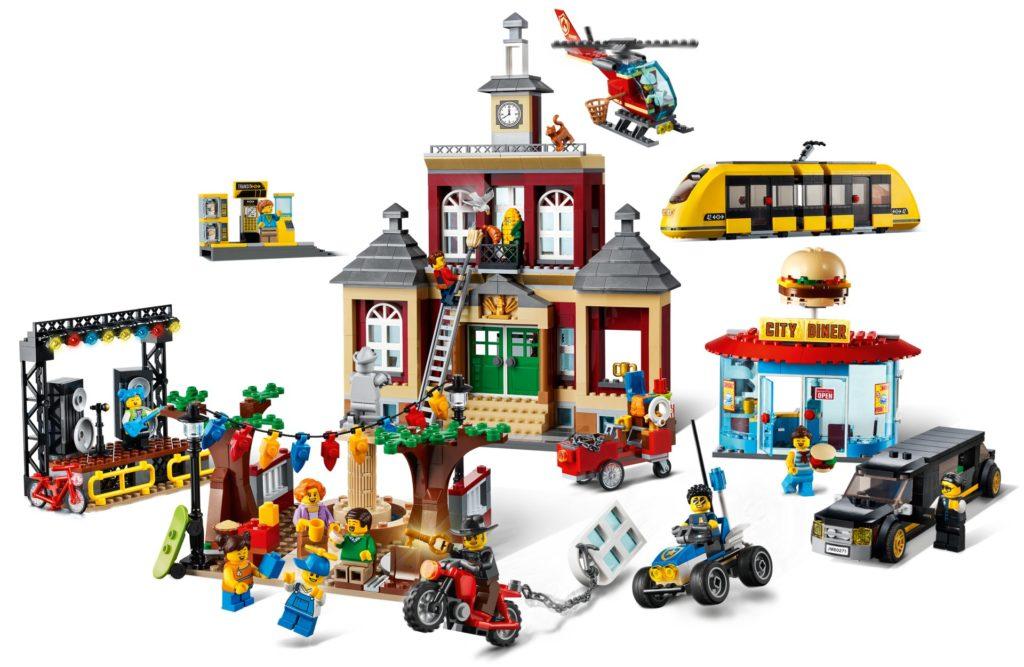 Bilder LEGO City 60271 Stadtplatz | ©LEGO Gruppe