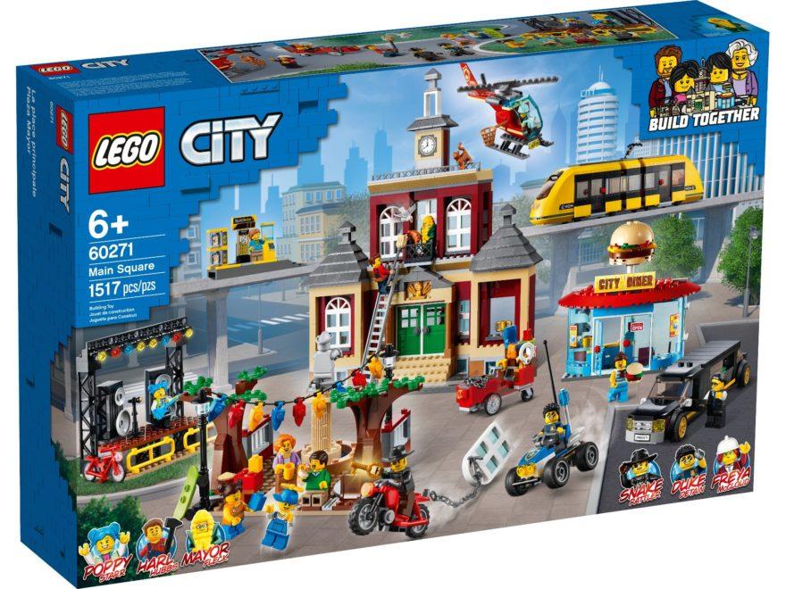 LEGO City 60271 Stadtplatz | ©LEGO Gruppe