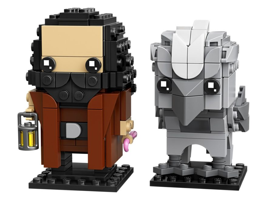 LEGO Harry Potter 40412 Brickheadz - Hagrid™ und Seidenschnabel | ©LEGO Gruppe