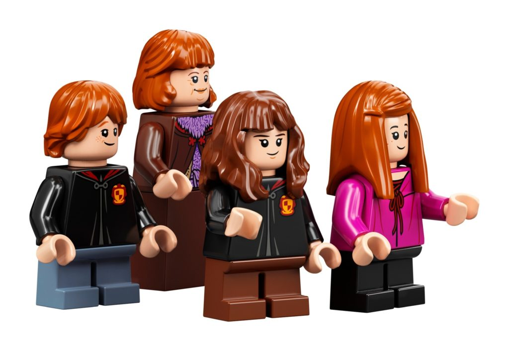 LEGO 75978 - Ron, Ginny, Molly Weasley und Hermine | ©LEGO Gruppe