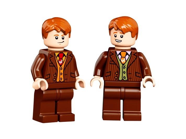 LEGO 75978 - George und Fred Weasley als Besitzer des Weasleys Zauberhafte Zauberscherze | ©LEGO Gruppe