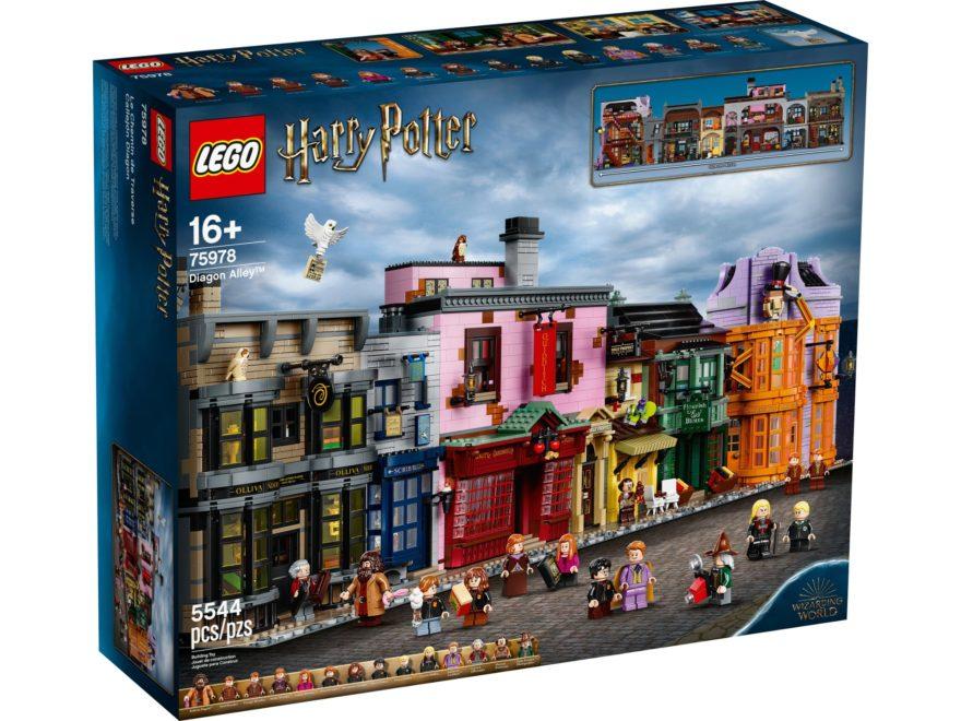 LEGO Harry Potter 75978 Winkelgasse - Titelbild | ©LEGO Gruppe