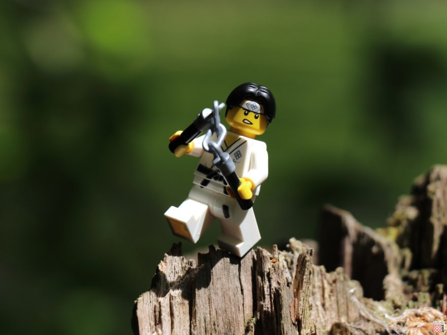 LEGO Karate Kid beim Training | ©2020 Brickzeit