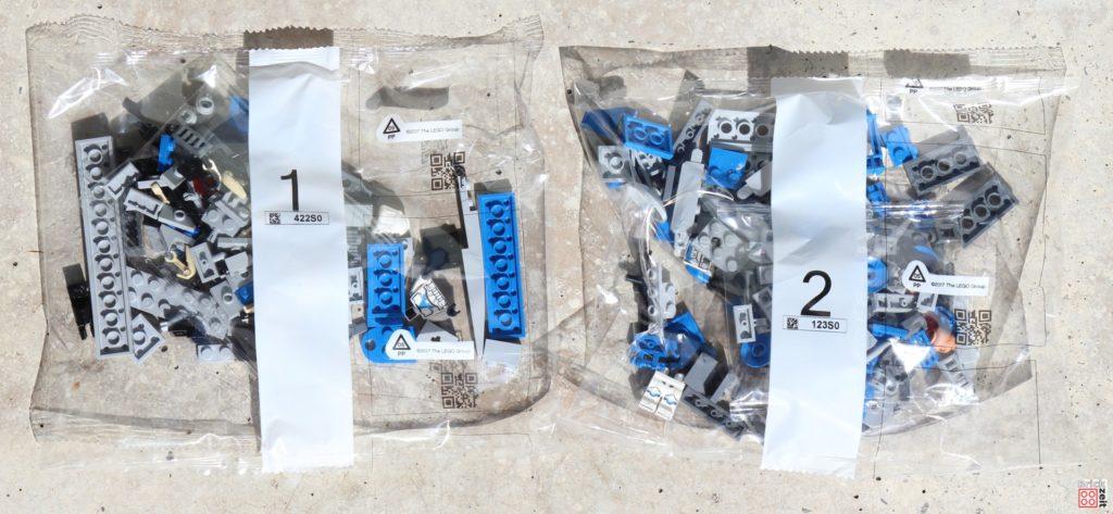 LEGO Star Wars 75280 501st Legion Clone Troopers - Tütchen mit Bauteilen | ©2020 Brickzeit
