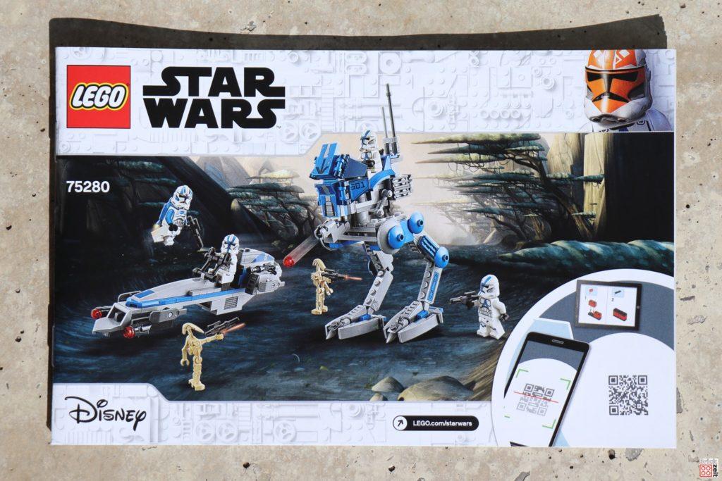 LEGO Star Wars 75280 501st Legion Clone Troopers - Anleitung | ©2020 Brickzeit