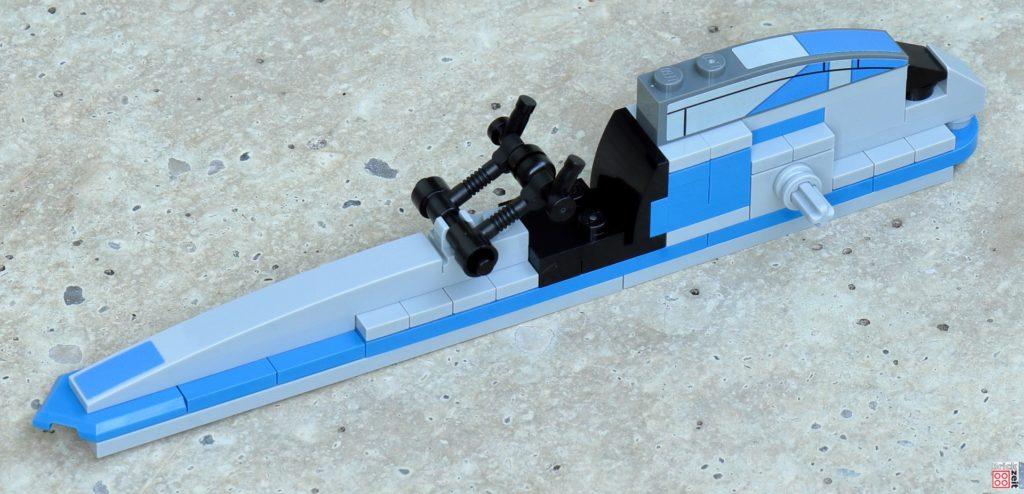 LEGO Star Wars 75280 - Aufbau BARC-Speeder 10 | ©2020 Brickzeit