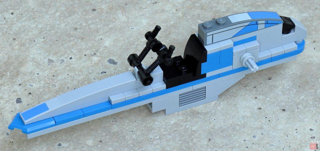 LEGO Star Wars 75280 - Aufbau BARC-Speeder 12 | ©2020 Brickzeit